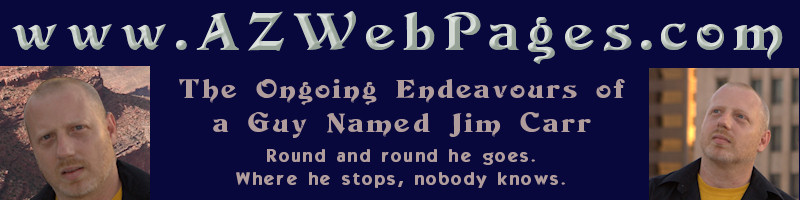 www.azwebpages.com - Ongoing Endeavours of Jim Carr